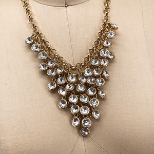 INC INTERNATIONAL CONCEPTS Crystal Bib Necklace